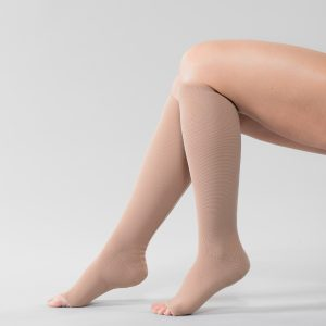 Compression Hosiery Flat Knit